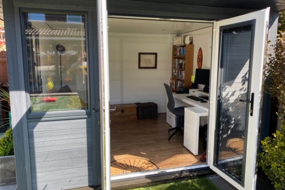 Composite Garden Office Bristol